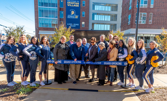 The Shops at Spartan Village celebrate grand opening