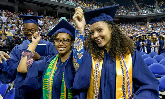 UNCG to award nearly 2,000 degrees at December Commencement
