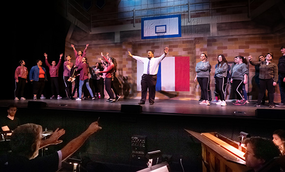 Opera brings fifth-grader's page to stage
