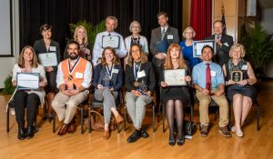 Photo of the Faculty Awards recipients