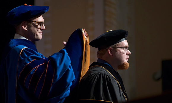 'In Spartan family forever,' doctoral graduates hooded