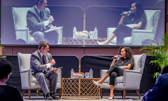 Zadie Smith visits campus as part of literary festival