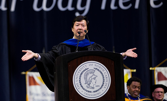 Ken Jeong: Find your passion, be persistent