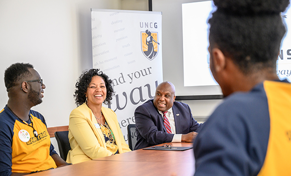 Secretary Hooks visits UNCG to discuss campus safety