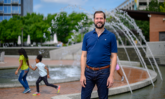 UNCG research examines role of urban parks