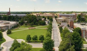 Photo of the UNCG campus