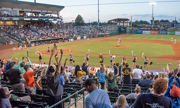 UNCG Night at Greensboro Grasshoppers Aug. 17