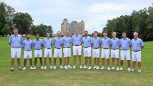 Photo of the golf team