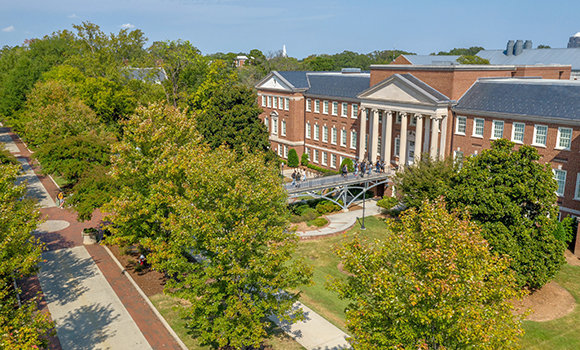 UNCG named 'Green College' by Princeton Review