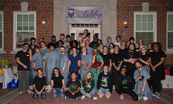 Spartans to zombies: Ashby College hosts haunted house