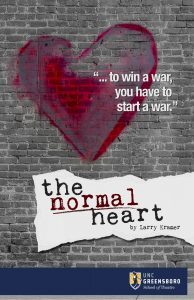 Normal Heart promotional poster