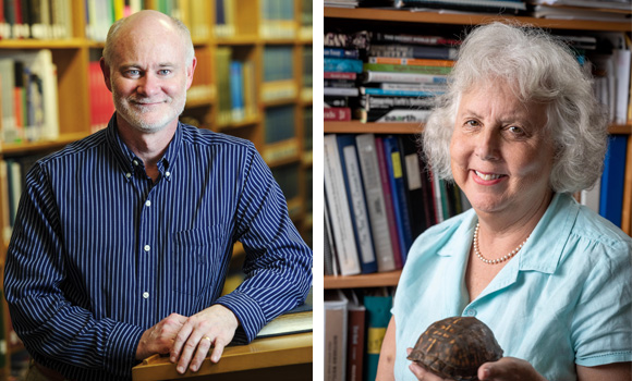 Two UNCG staff honored with Governor's Awards