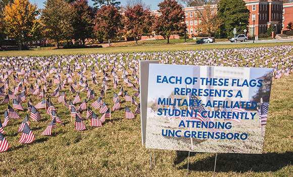 UNCG to hold Veterans Day celebration