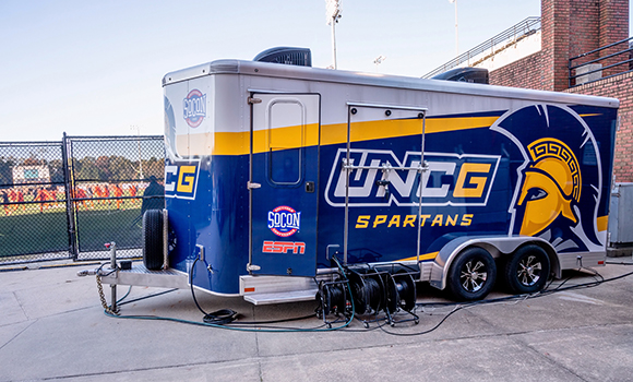 Exterior photo of streaming truck
