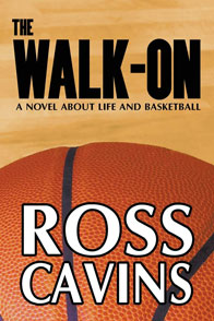 book cover with basketball