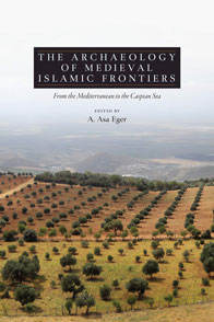 book cover with olive trees