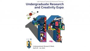 graphic for research expo