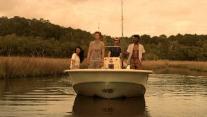 production still from Outer Banks