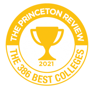 Princeton Review Best Colleges badge