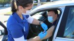 School of Nursing hosts drive-through flu shot clinic during Homecoming