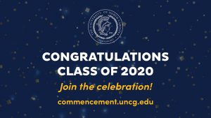 UNCG to honor nearly 5,000 graduates at Virtual Commencement