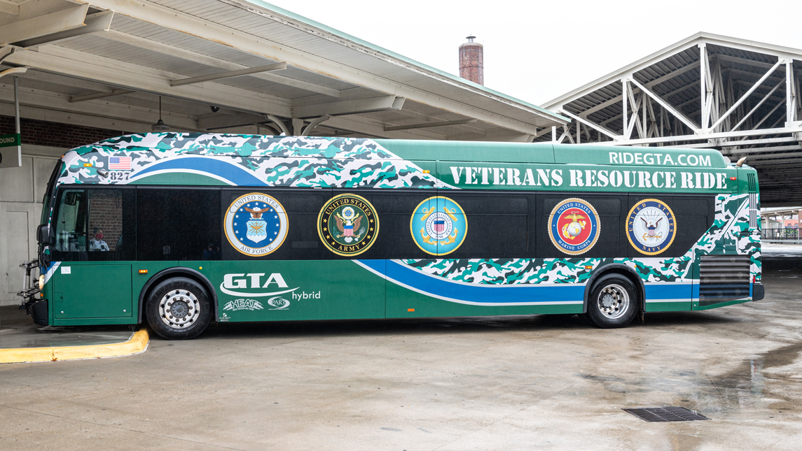 GTA's Veterans Resource Ride, a mobile resource center launched in early November