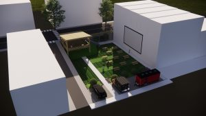 outdoor entertainment venue design