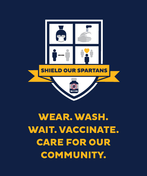 Wear. Wash. Wait. Care for our community.