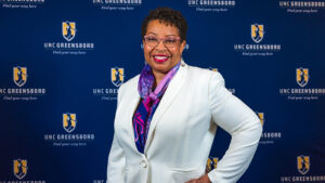 Portrait of Debra Barksdale, new dean of the School of Nursing