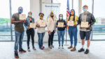 Army nursing students honored for service at vaccine clinic