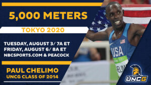 Paul Chelimo '14 pumped for Olympic moment