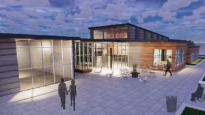 Rendering of Tate and Gate building