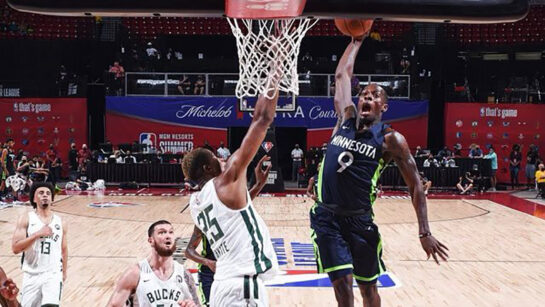 Isaiah Miller signs with the Minnesota Timberwolves