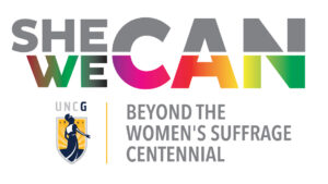 logo for She Can, We Can