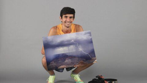 Student-athlete spent summer as a storm-chaser