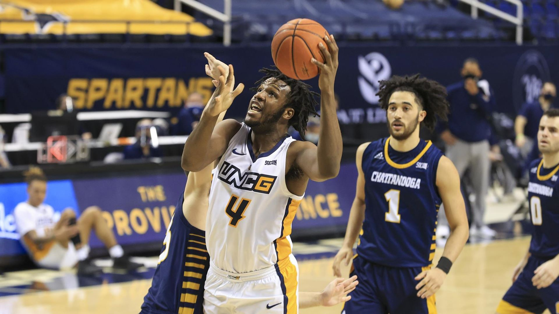 Mo Abdulsalam led UNCG in rebounds in 2020-21