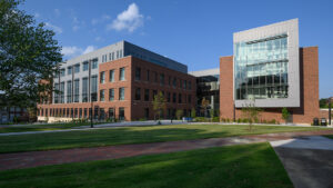 The Nursing and Instructional Building, which opened this year, achieved LEED Gold status. It's the 20th building on campus to earn LEED status.