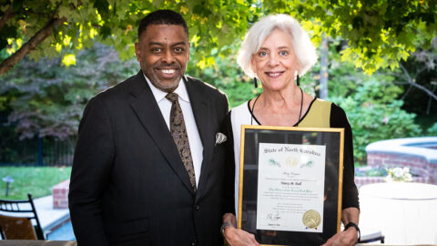 Nancy Doll honored with The Order of the Long Leaf Pine